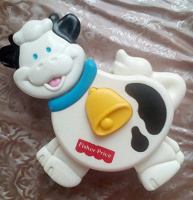 Отдается в дар Игрушка коровка