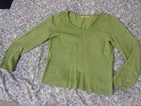 Отдается в дар Зеленый джемпер