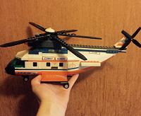 Отдается в дар Лего вертолет