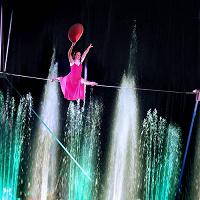 Отдается в дар Билет в цирк танцующих фонтанов «аквамарин»