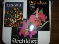 Отдается в дар 3 книги об орхидеях