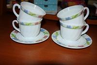 Отдается в дар чашки+тарелочки для чая