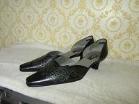 Отдается в дар Туфли черные — 41 размер (7)