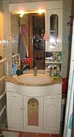 Отдается в дар Мойдодыр — комплект мебели для ванной