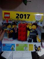 Отдается в дар Календарь настенный 2017 Лего