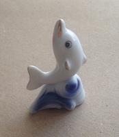 Отдается в дар Дельфинчик маленький фарфоровый