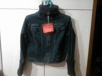 Отдается в дар Куртка джинсовая KIT s-xs.