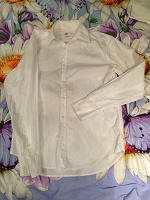 Отдается в дар Белая мужская рубашка