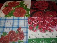 Отдается в дар Бумажные салфетки «Розы».
