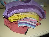 Отдается в дар Пакет детской одежды.