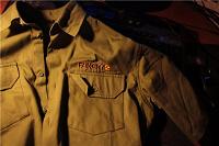 Отдается в дар Рубашка хаки с кор. рукавом Far Cry 2