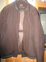 Отдается в дар Утепленная мужская куртка