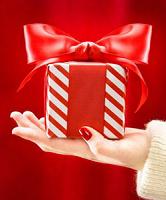 Отдается в дар Дар красного цвета