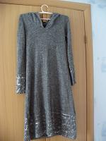 Отдается в дар Зимнее платье 46-48 размер