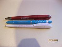 Отдается в дар Ручки с логотипами