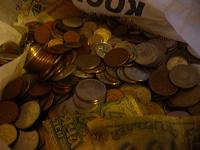Отдается в дар около 1 кг иностранных монет