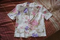 Отдается в дар Летний пиджак 46-48 размер