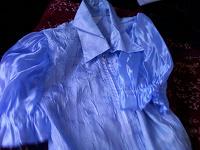Отдается в дар Голубая блузка