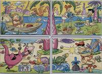 Отдается в дар Пузеля «Семейка Флинтстоун» 90-х