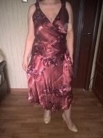 Отдается в дар Платье KALIKO натуральный шелк р46-48
