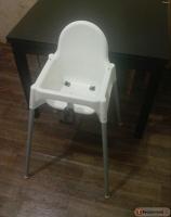 Отдается в дар Детский высокий стульчик