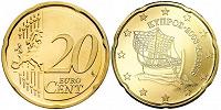 Отдается в дар 10, 20 ец Кипр