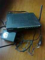 Отдается в дар ADSL Wi-Fi модем Paradyne 6218