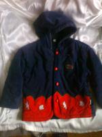 Отдается в дар Куртка детская на 4-5 лет. Вельветовая.