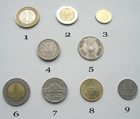 Отдается в дар Монеты: Азия