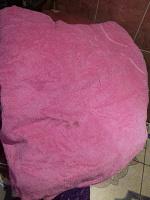 Отдается в дар махровое полотенце большое