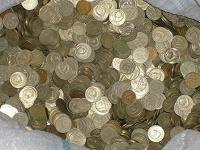 Отдается в дар Монеты СССР (10, 15, 20 коп)