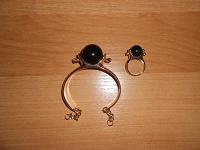 Отдается в дар Браслет и кольцо (комплект)