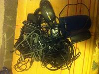 Отдается в дар Провода, зарядки, мышки, наушники, гарнитуры