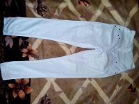 Отдается в дар Белые джинсы.Эйвон.