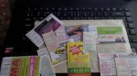 Отдается в дар Билеты на автобус рекламные и отрывные из Архангельска