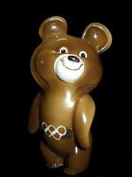 Отдается в дар Олимпийский мишка — форфор