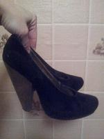 Отдается в дар Стильные туфли для уверенных в себе девушек :-)