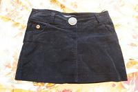 Отдается в дар Вельветовая мини юбочка