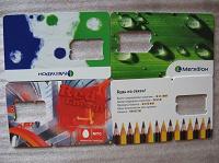Отдается в дар Пластиковые карты из под сим карт