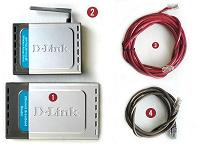 Отдается в дар Роутер и Wi-Fi точка доступа D-Link + 2 патч-корда
