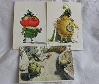 Отдается в дар открытки 1956г.