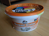 Отдается в дар Водоэмульсионная краска (салатовый цвет)