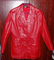 Отдается в дар Кожанная куртка.