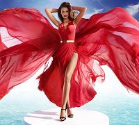 Отдается в дар Красное платье Love Republic 44 размер