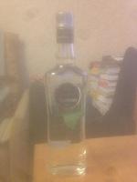 Отдается в дар Бутылка водки «Бульбаш»