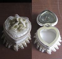 Отдается в дар Шкатулка керамическая