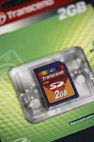 Отдается в дар Карта Transсend 2GB