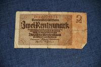 Отдается в дар Банкнота 2 марки Германии (клеена)