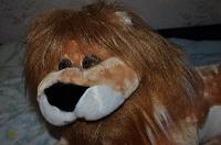 Отдается в дар Китайский плюшевый лев