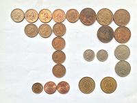 Отдается в дар 25 монет